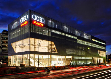 Audi Light House