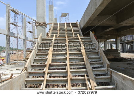 stock-photo-selangor-malaysia-november-concrete-staircase-form-work-at-the-construction-site-372027979